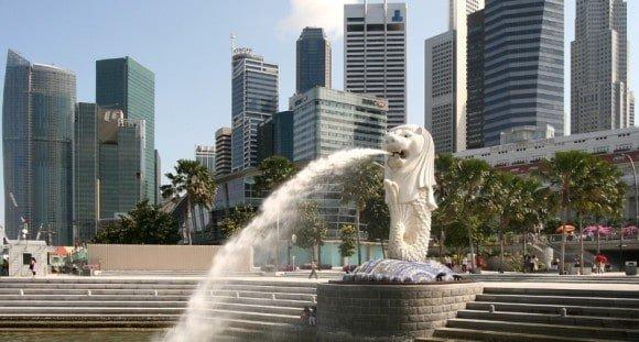 Merilion, Singapore