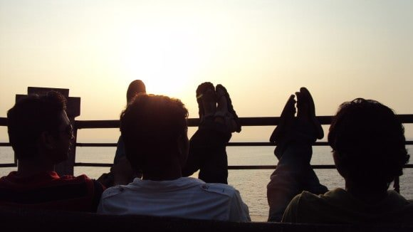 Sunset at Dona Paula (Places to visit in Goa)