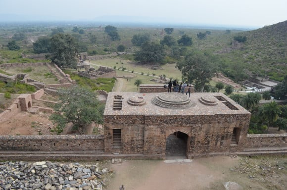 View from Bhangarh Fort