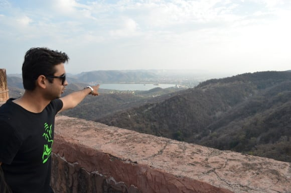 View from Jaigarh Fort Places to visit in Jaipur - Jaipur itinerary