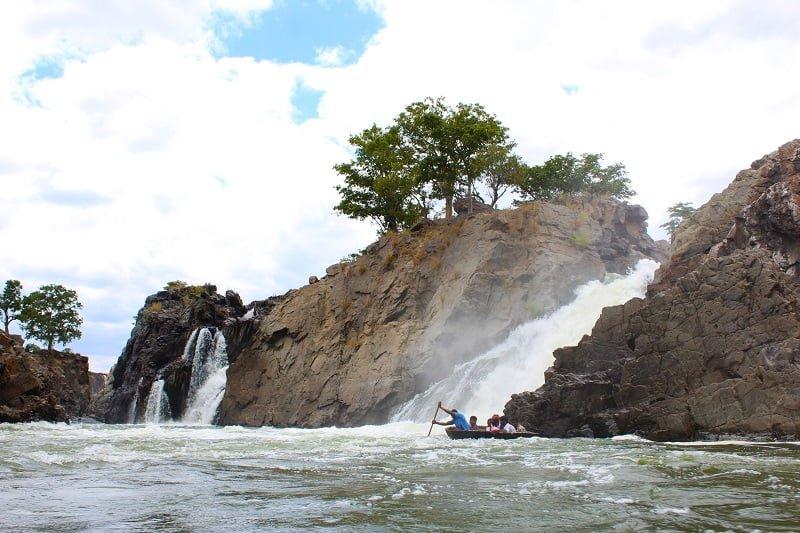 Trip to Hogennakal Waterfalls