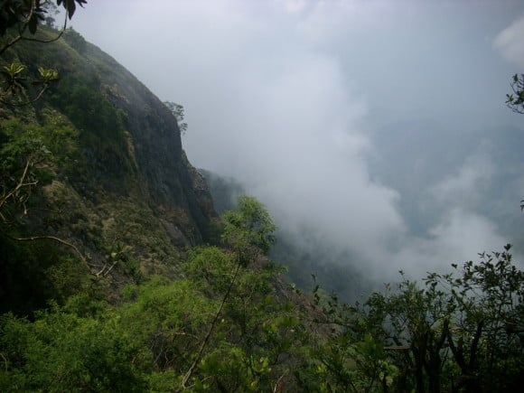 View from Perumal Peak, Kodaikanal