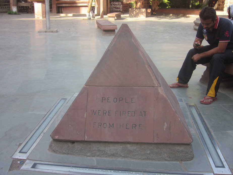 Bullets were fired from here in Jallianwala bagh