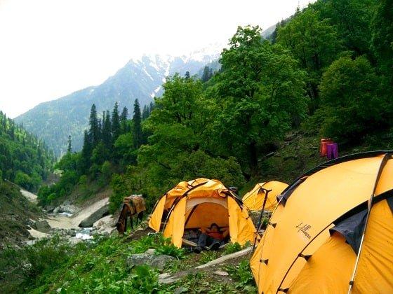 Udakanal Camp Rupin Passs