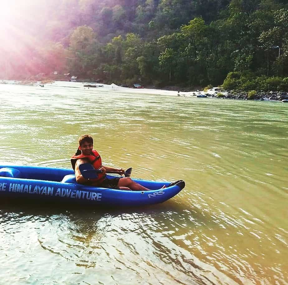 Kayaking in Rishikesh