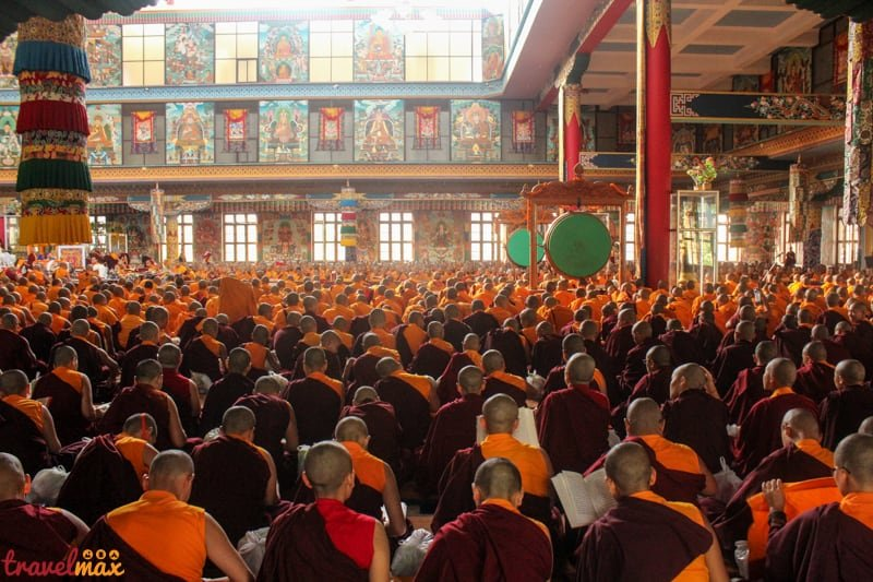 Namdroling monastery bylakuppe experiences in coorg