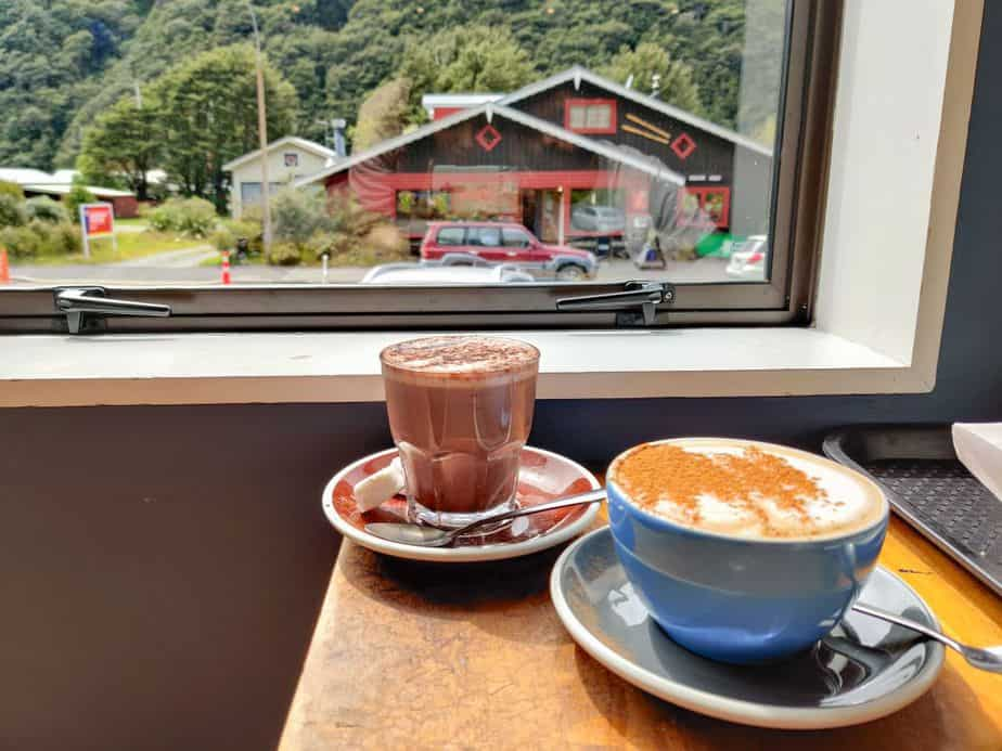 Fox glacier cafe