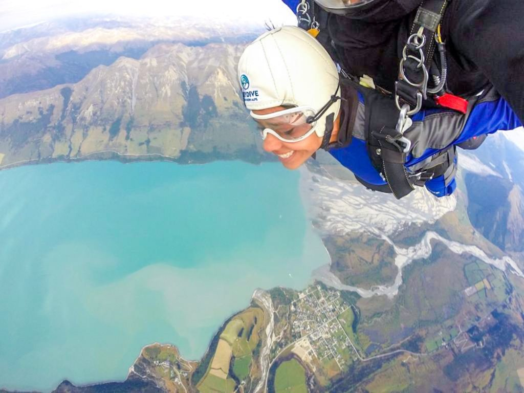 Glenorchy skydiving