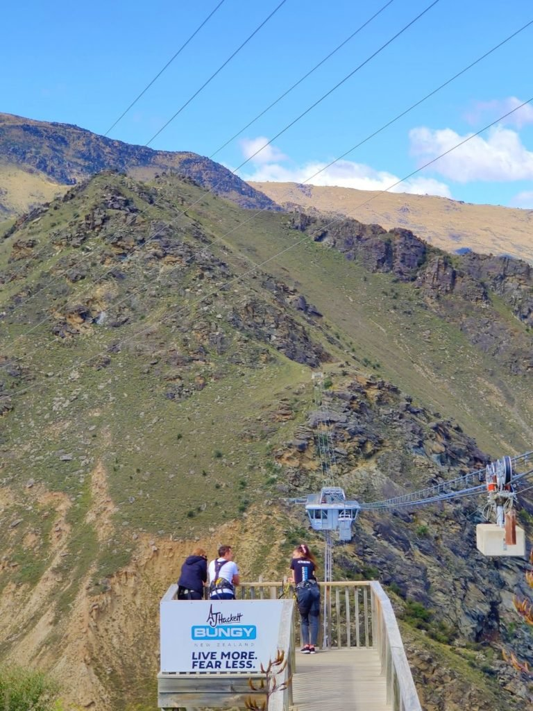 Nevis Bungy Jump